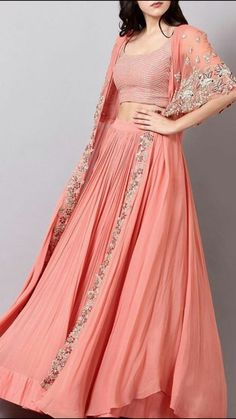 Shop some of your favourite Ridhi Mehra outfits online and get them delivered within 7 days + pay cash on delivery! 💕 Head to… Lehenga Indien, Lehenga Choli, Jacket Lehenga, Choli Designs, Lehenga Designs, Indian Wedding Outfits, Indian Outfits, Indian Designer Outfits, Designer Dresses