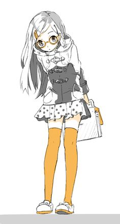 Ania; age 14; outgoing and calm; likes cute clothes and speaks both Korean and Japanese