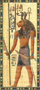 During the New Kingdom, Egyptian mythology created the fierce lion god Maahes who was the son of Bast. In the Upper Kingdom, Maahes was the son of the fierce lion goddess Sekhmet (Upper Egypt) or Bast (Lower Egypt) - those goddesses were later combined into a single entity hence this confusing dual identity of his mother. His father was either Ptah or Atum-Ra. He also represented the destructive power of the sun's heat. Maahes is depicted as both a lion-headed man and a lion devouring a…