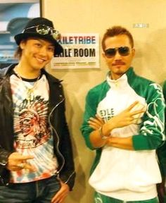 Takahiro Exile | 木漏日: ATSUSHI & TAKAHIRO着用:《EXILE TRIBE》巡演 ...