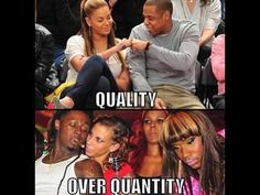 Quality Over Quantity celebrities celebrity beyonce lil wayne jay z Quotes About Love And Relationships, Real Life Quotes, Badass Quotes, Funny Facts, Funny Quotes, Funny Memes, Hilarious, Jay Z Quotes, Frases