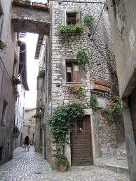 Sermoneta in Italy