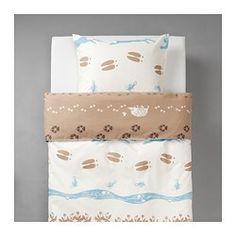 VANDRING SKOGSLIV Duvet cover and pillowcase(s) - IKEA $20 child size.