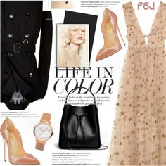 A fashion look from September 2016 by jiabao-krohn featuring Valentino…