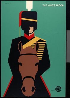 Tom Eckersley, The Royal Artillery Museum poster (1977)