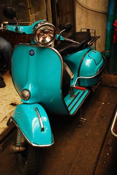 I'd love to have a classic Vespa. 1960s would be awesome.