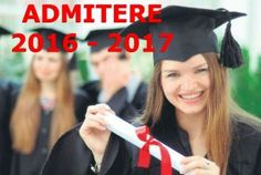 Admitere 2016 - 2017