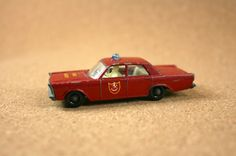 MATCHBOX Series by Lesney No. 59-c Ford Galaxie Fire by N2THEATTIC