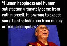 On satisfaction