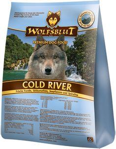 Wolfsblut Cold Rover mit Forelle und Süßkartoffel - Getreidefreies Hundefutter für Eure Vierbeiner. #Wolfsblut #Healthfood24