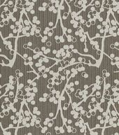 Home Decor Upholstery Fabric-Crypton Cherries-Charcoal