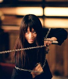 """Gogo Yubari - Kill Bill Vol. 1 (2003). A young associate of O-Ren Ishii. Gogo is the bloodthirsty and ultraviolent seventeen-year-old schoolgirl who takes a sadistic delight in killing. She is O-Ren's top assassin and personal bodyguard. Gogo's disturbed mind and vicious penchant for killing is displayed when she offers herself to a drunken man in a bar and then disembowels him, asking him, """"Do you still wish to penetrate me?... Or is it I who has penetrated you?"""""""