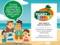 """Começa hoje, 29 de novembro, a fase de testes do """"Ticket Paraty"""" --um novo sistema de venda e de acesso para organizar e tornar mais seguros os passeios náuticos no Cais de Turismo. Mais informações na página do facebook da Secretaria de Turismo (https://www.facebook.com/turismovisiteparaty/?fref=ts) ou no site www.ticketparaty.com.br #exposição #evento #festival #música #fotografia #arte #cultura #turismo #VisiteParaty #TurismoParaty #Paraty #PousadaDoCareca #PartiuBrasil #MTur #boatarde"""