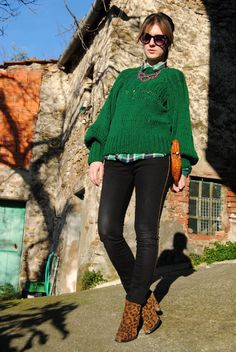 Me Myself and My Closet - Fashion Blogger: GREEN GRASS