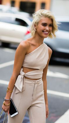 Sarah Ellen - New York Fashion Week Street Style