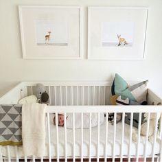 Meet Finn. Snoozing away in his crib.