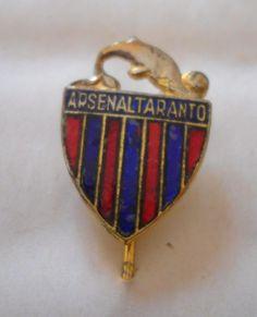 calcio distintivo Arsenal Taranto  pin  badge football soccer