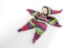 Hand Knit Doll, Lovey Doll, Baby Comforter Doll, Waldorf Doll, Gnome Doll, Teething Doll, Newborn Gift, Knitted Doll Toy, Baby Gift by heaventoseven on Etsy
