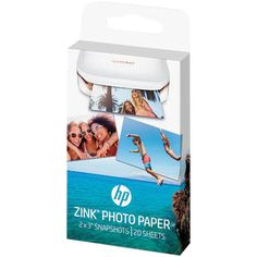 HP ZINK Photo Paper for HP Sprocket Photo Printer (1AH01A) - 20 Sheets : Ink for HP - Best Buy Canada #photoprinter