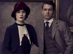 downton abbey season 5//Wait!  I saw a pic of Mary and Tony together...but this is Charles Blake.  They're totes messing with me.  Can hardly wait!