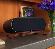 Aris Wireless Speaker / The Aperion ARIS wireless speaker gives you HiFi via WiFi for Windows 7 or Windows 8, so you can enjoy your favorite tracks instantly. http://thegadgetflow.com/portfolio/aris-wireless-speaker/