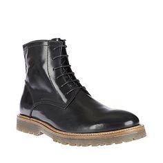 LONGSHOT BLACK LEATHER men's boot casual oxford - Steve Madden Leather Men, Leather Boots, Black Leather, Fashion Boots, Mens Fashion, Steve Madden Boots, Designer Boots, Suit And Tie, Shoe Boots