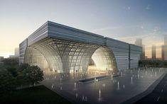 1° Lugar: Concurso Internacional Centro Cultural Changzhou / gmp Architekten