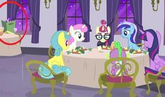 OMG! IT'S HER!! IT IS THAT CUTIEMARK STEALING STARLIGHT GLIMMER!!!!!! SHE'S WATCHING THEM!!!!! BUT FOR HOW LONG HAS SHE BEEN WATCHING THEM!?!?!?