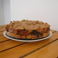 """Passover Apple Cake (no flour)~Readers say to double recipe for a 9 by 13"""" dish. Use Macintosh or granny smith apples."""