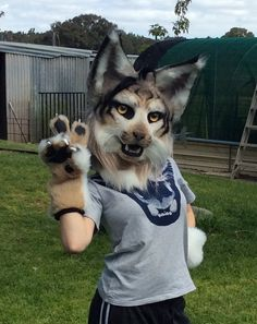 omg so cute Anime Furry, Anthro Furry, Animal Costumes, Animal Heads, Best Cosplay, Beautiful Creatures, Halloween Costumes, Creations, Look Alike