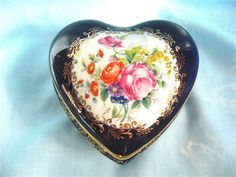 Vintage Limoge Heart Box