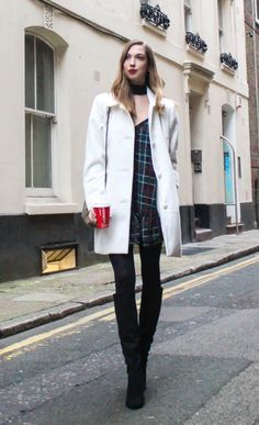 How to Style a Winter White Coat