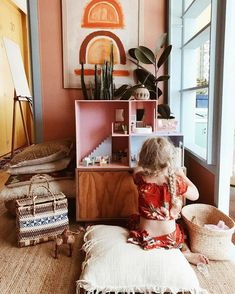 Sweet vintage bedroom ideas to make full happy childhood 25 - Kolega Space Girl Room, Girls Bedroom, Baby Room, Bedroom Ideas, Cool Kids Rooms, Design Your Home, Bedroom Vintage, Reno, Kid Spaces