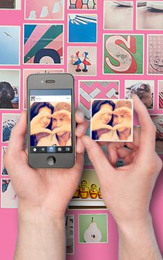 This website turns your Instagrams into cute little magnets! Perfect Mother's Day gift.