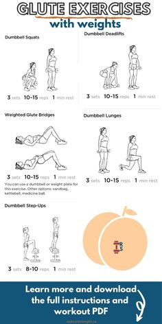 The 5 Best Dumbbell Glute Exercises (Workout PDF) - Radical Strength