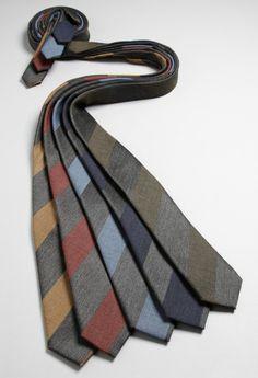 too many ties...
