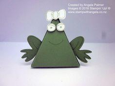 Pyramid Pals, Pyramid Pals Thinlits Dies, Playful Pals, Frog, Stampin' Up