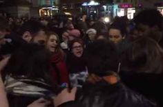 "A Crowd Gathered In Central Brussels Performed A Heartbreaking Rendition Of ""Imagine"" Non Stop, Buzzfeed News, Faith In Humanity, Brussels, Crowd, Social Media, Experiment, Platforms, People"