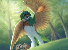 Decidueye - So going to name mine either Green Arrow or Robin Hood :D