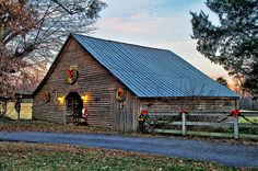 Christmas Barn 3 by DavidK331, via Flickr