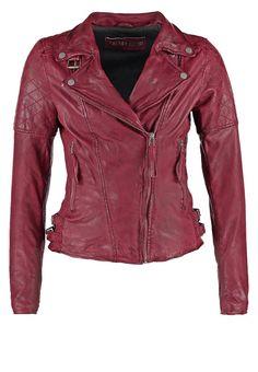 Freaky Nation GLORY Kurtka skórzana purple red 779.00zł #moda #fashion #women #kobieta #freaky #nation #glory #kurtka #skórzana #damska #przejściowa #ramoneska #fioletowy