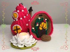 Excited to share this item from my shop: Crochet seashell fairy house, amigurumi seashell, fairy house seashell, seashell crochet pattern Spiral Crochet, Half Double Crochet, Single Crochet, Crochet Patterns Amigurumi, Crochet Hooks, Crochet Fairy, Basic Crochet Stitches, Yarn Needle, Slip Stitch