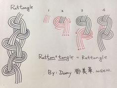 Tangle pattern: Rattangle