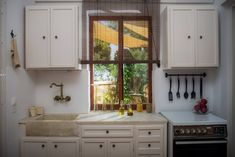 Fully equipped kitchen Mediterranean Art, Interior Photo, Photo Galleries, Relax, Patio, Kitchen, Home Decor, Interiors, Cooking