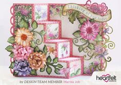 Enchanted Mum Four Step Card Tutorial by Marisa Job | Blog Post