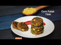 Corn Palak Tikki  Who doesn't love a hot tikki in this wintery evening? Am sure all of us love tikkis. These tikkis are healthy and they are very simple to make. Do try this recipe in your kitchens and let me know how it turned out in the comments section below.     Ingredients  Palak - 1 bunch  Cooked Sweet Corn - 1 no  Potato - 2 no  Chopped Green Chili - 2 no  Chopped Ginger - 1 no  Chilli powder - 1 tsp  Coriander powder - 1 tsp  Cumin powder - 1 tsp  Chat masala - 2 tsp  Salt - 1 tsp…