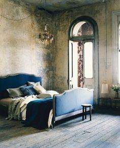 Tendência no décor: paredes desgastadas