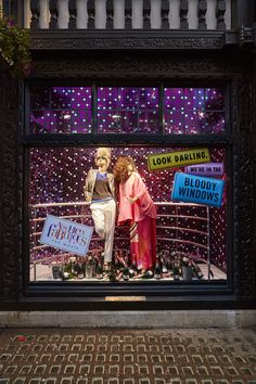 "LIBERTY, London, UK, ""Absolutely Fabulous-The Movie"", (Featuring Eddy & Patsy), creative by StudioXAG, pinned by Ton van der Veer"