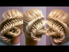 .Все причёски на канале: https://www.youtube.com/c/ElviraAlexa  7 видео-уроков, по плетению кос в уз ...