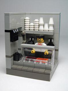 LEGO Seinfeld Soup Nazi